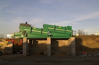 Trommel screens by Growing Beds Recycling Services