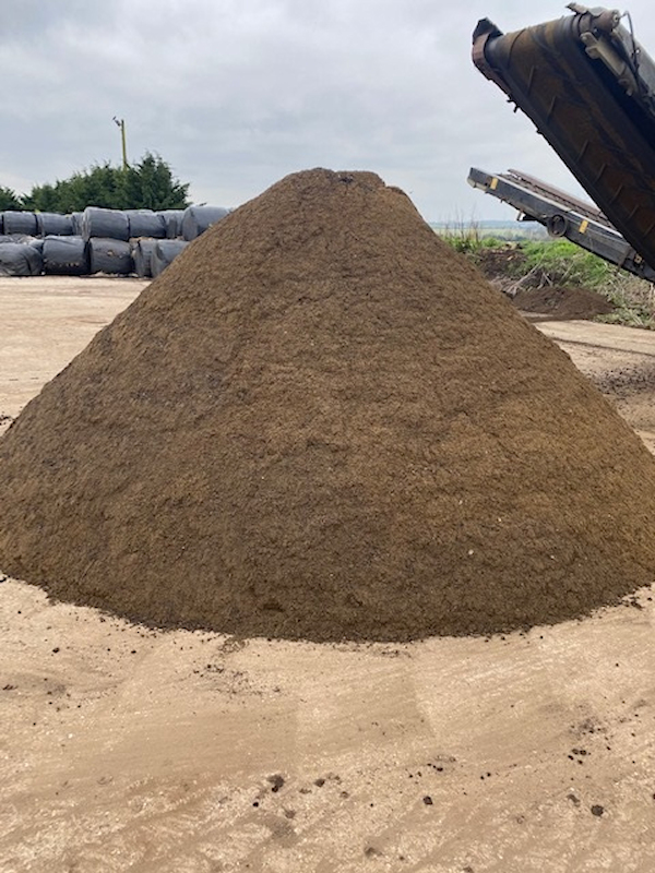 Loose Topsoil by Growing Beds Recycling Services Ltd
